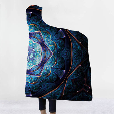 Om Hooded Blanket