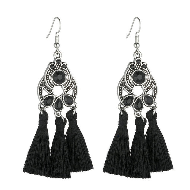 Bohemian Triple Earrings