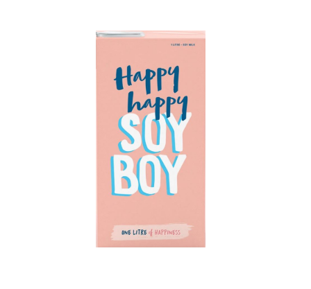Happy Happy Soy Boy 6x1L