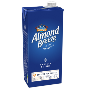 Blue Diamond Almond Breeze Barista Blend 8 x 1L