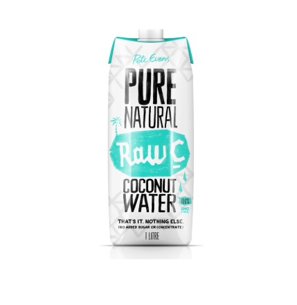 Pure Natural Raw C Coconut Water 1x12L