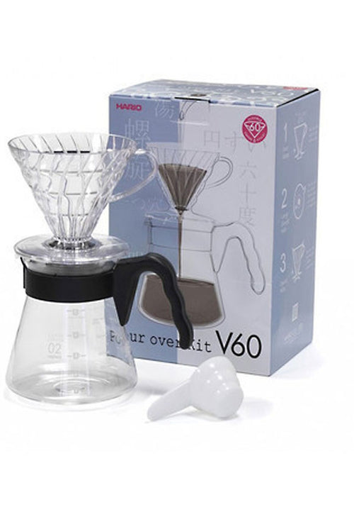 Hario V60 Pour Over Starter Kit - Docent Coffee