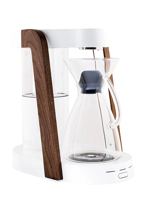 Ratio Eight Coffee Maker - White - Docent Coffee