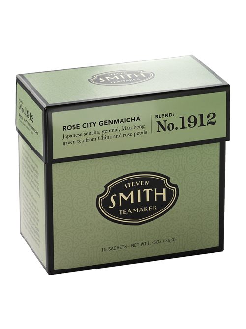 Rose City Genmaicha (Green Tea Blend)