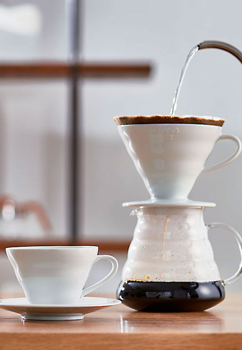 Hario v60 Coffee Dripper - 02 - Docent Coffee