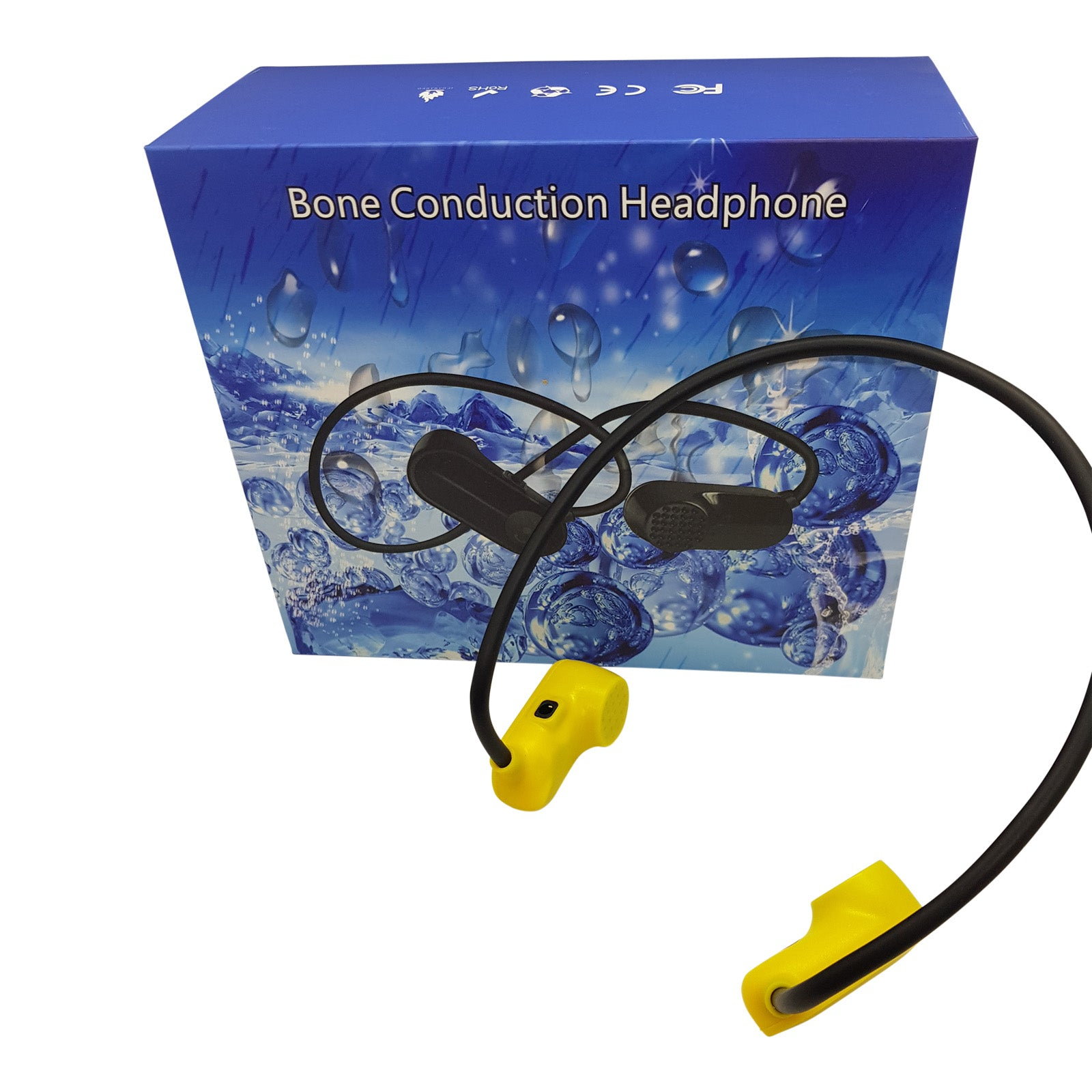 MP3 Bone Conduction Headphones Waterproof with 8GB Memory V13