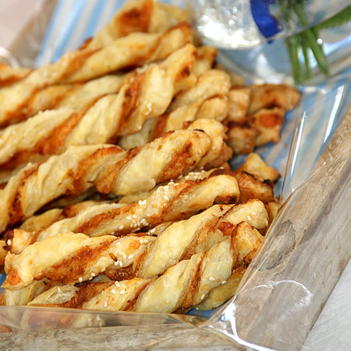 Tapenade Cheese Twists