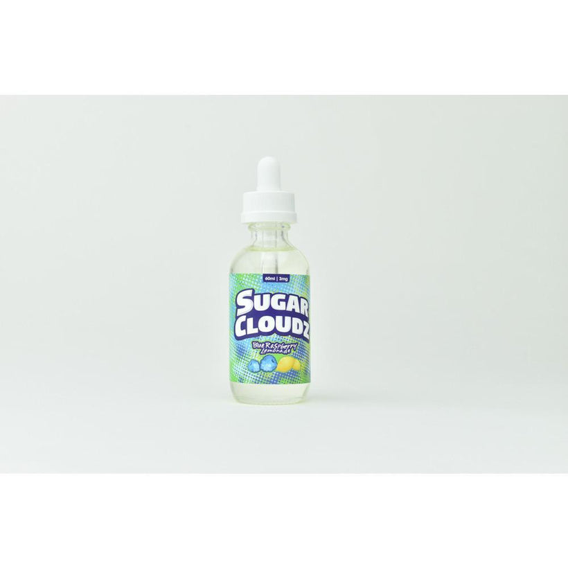 Sugar Cloudz Blue Raspberry Lemonade Vape Juice