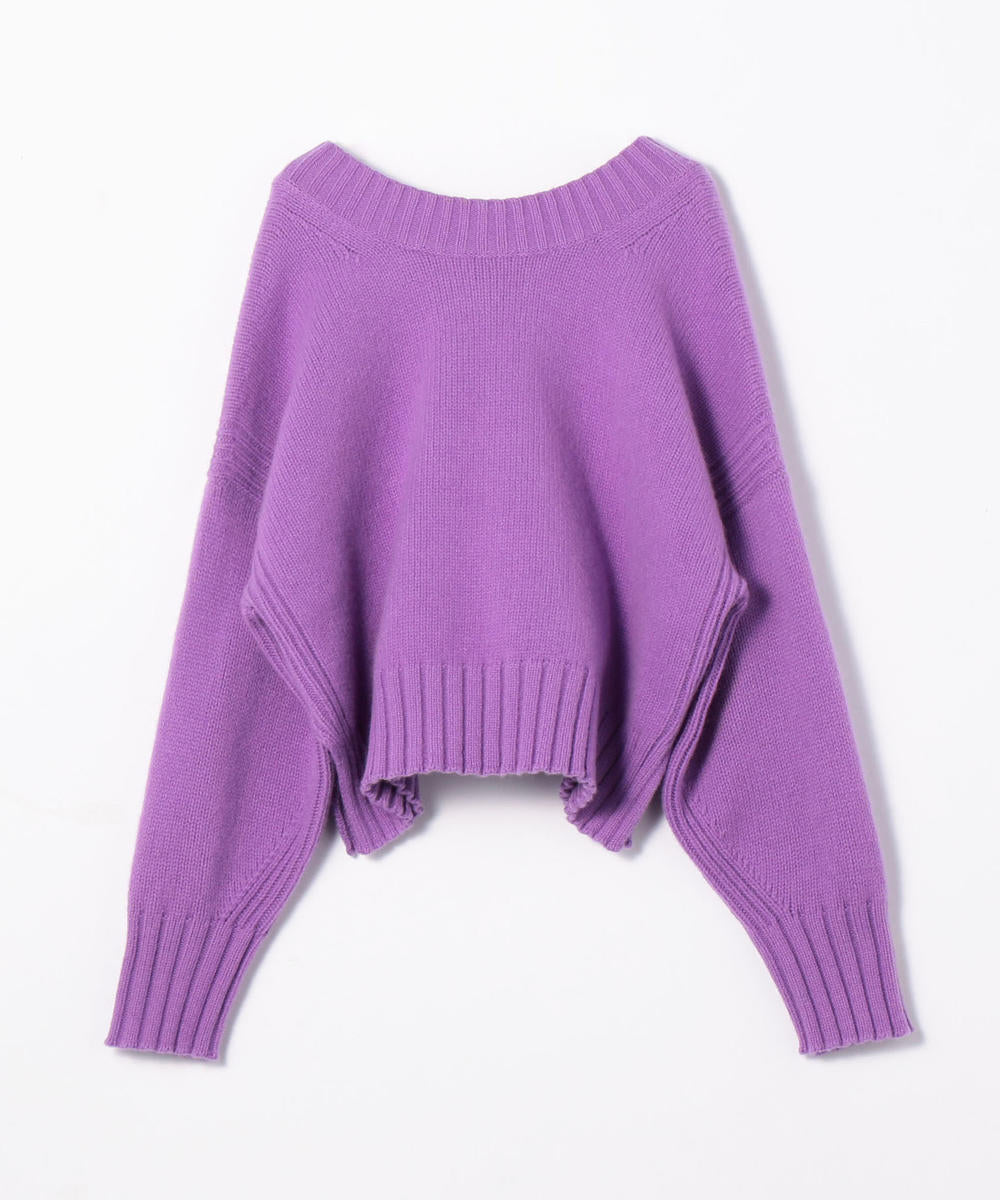 TOMORROWLAND Wool cashmere 2-way pullover available in multiple colors