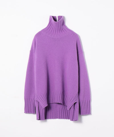 TOMORROWLAND Wool cashmere high neck pullover