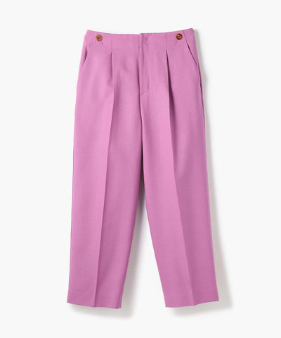 Ballsey Wool Tapered Marine Pants Purple