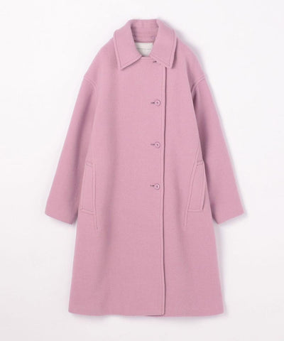 Wool stretch stainless steel long coat