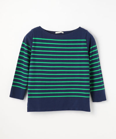 Macphee classic Striped Pullover Blue and Green