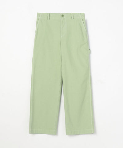 MACPHEE Cotton Broken Twill Straight Painter Pants