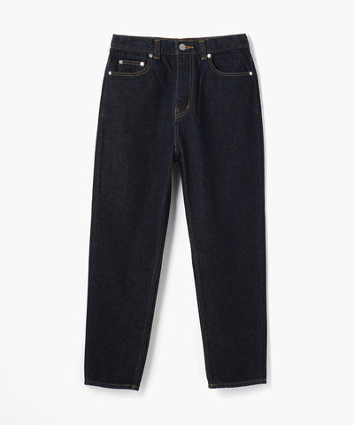 Macphee Denim Cropped Tapered Jeans