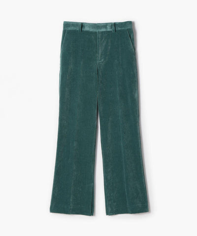 Corduroy Boot Cut Pants