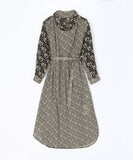 Macphee Liberty Print Smock Neck Dress