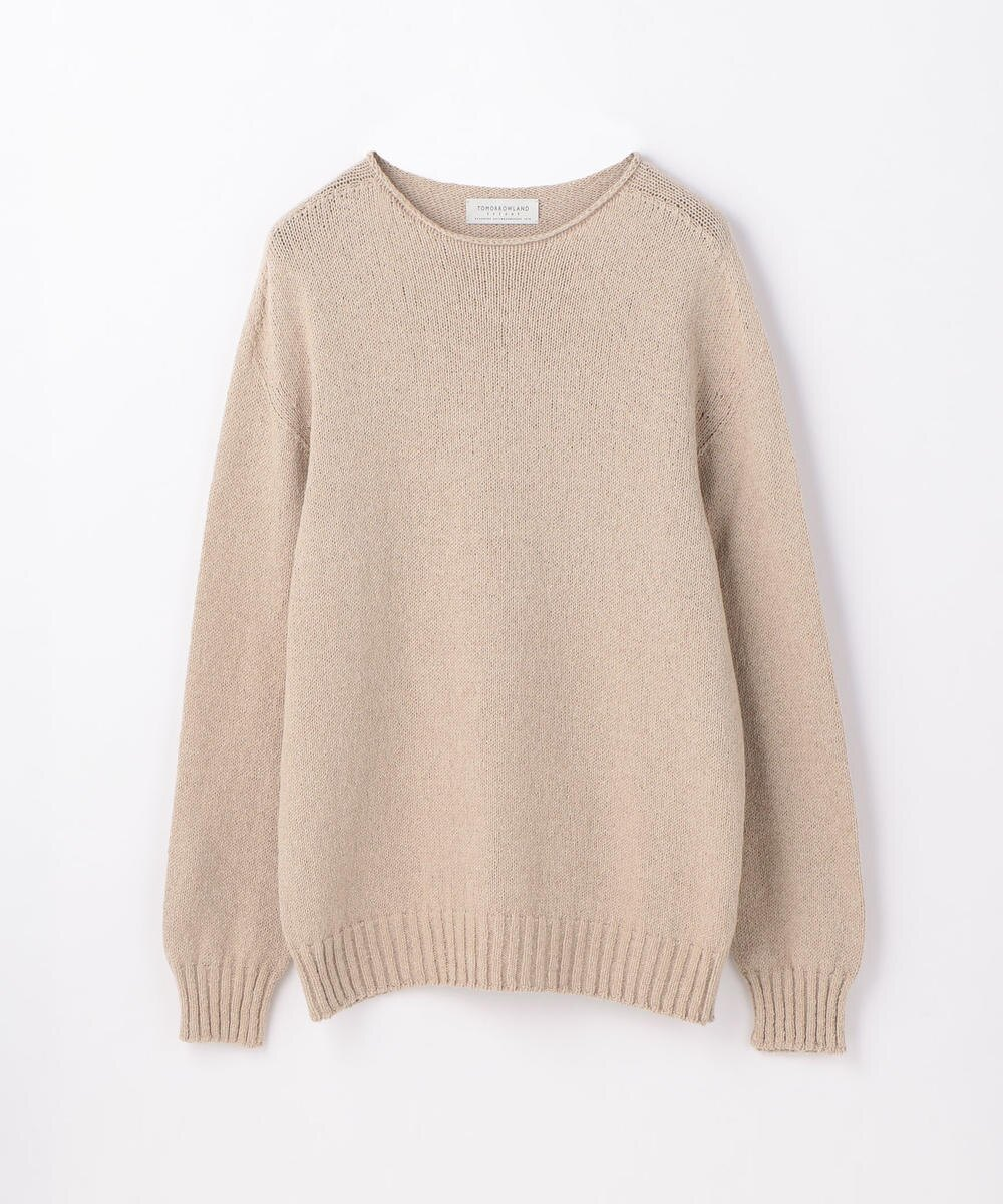 63029102012 TOMORROWLAND Crewneck Long Sleeve Knit Sweater - Beige 43