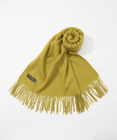 TOMORROWLAND cashmere scarf in Green