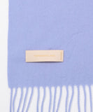 TOMORROWLAND cashmere scarf in Blue