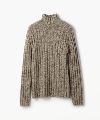 Bacca British Wool Mix Turtle Neck Pullover Sweater