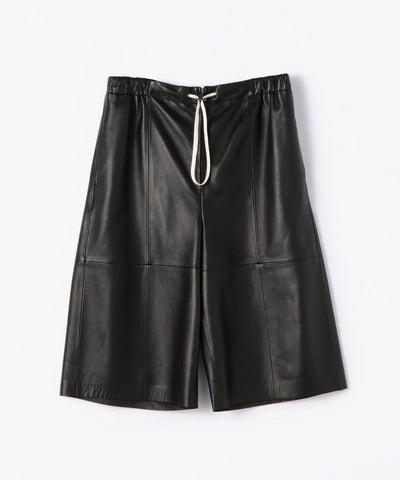 BACCA Lamb leather shorts