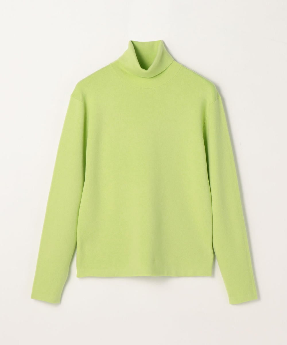 CABaN Cotton cashmere turtleneck pullover Light Green