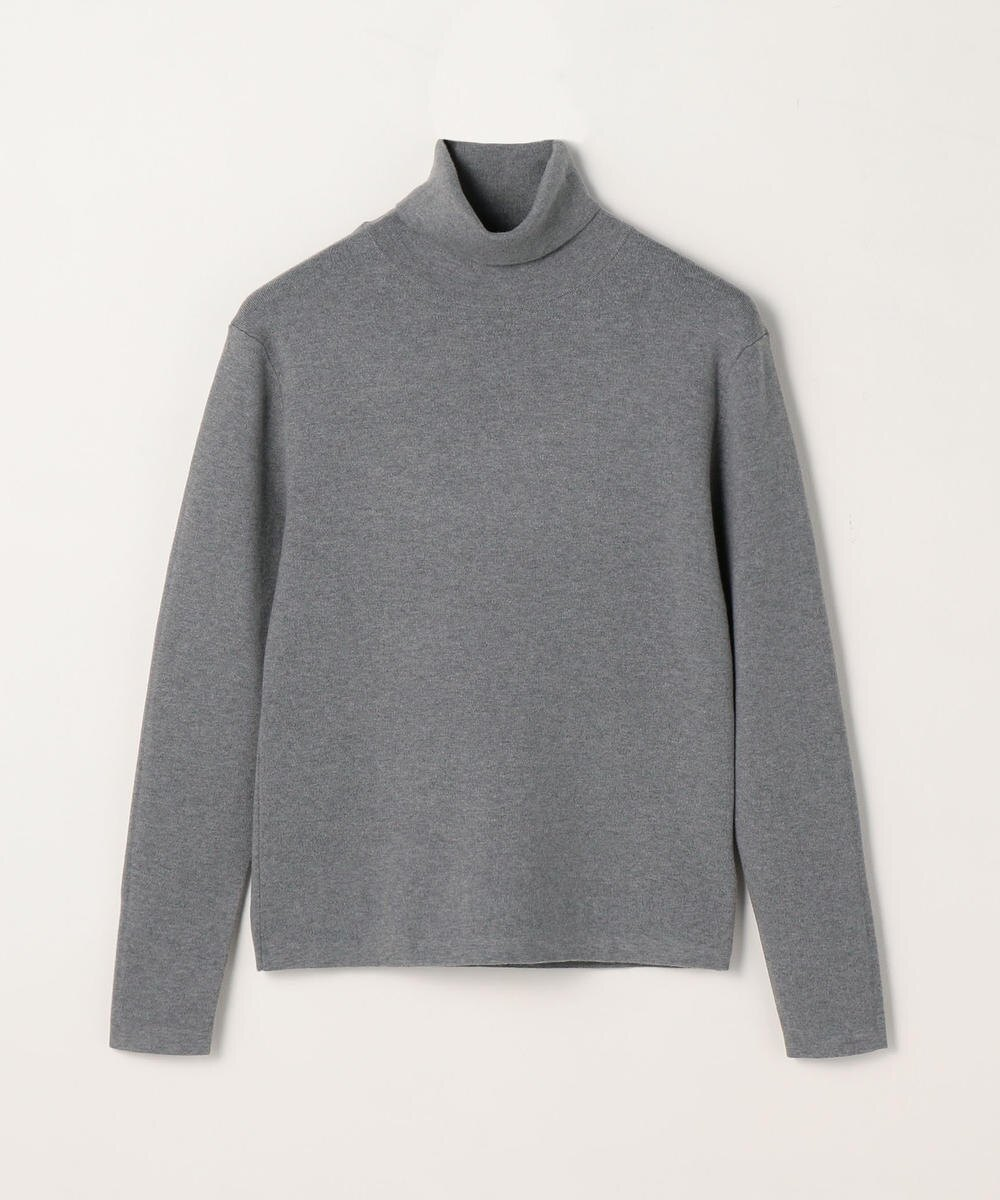 CABaN Cotton cashmere turtleneck pullover Gray