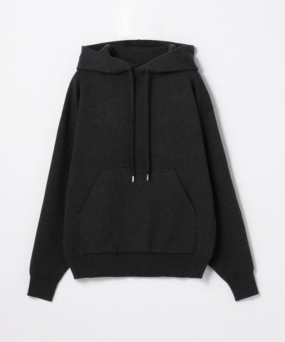 CABaN Cotton Cashmere Blend Pullover Parka Black