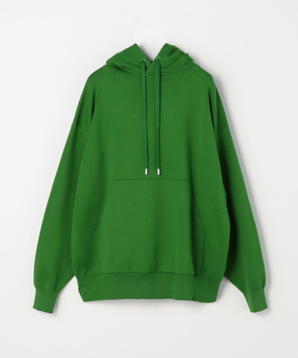 CABaN Cotton Cashmere Blend Pullover Parka Green
