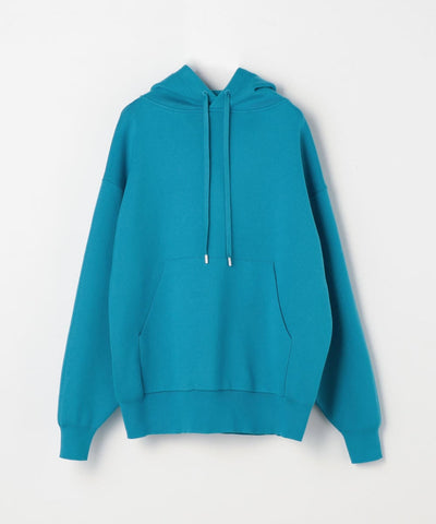 CABaN Cotton Cashmere Blend Pullover Parka Blue