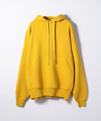 CABaN Cotton Cashmere Blend Pullover Parka Yellow