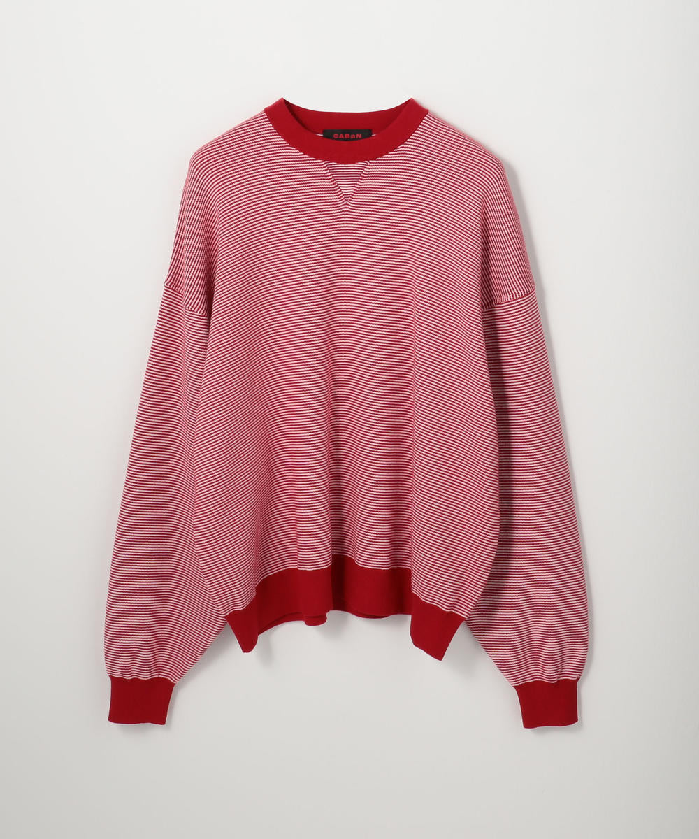 CABaN Cotton cashmere crew neck pullover