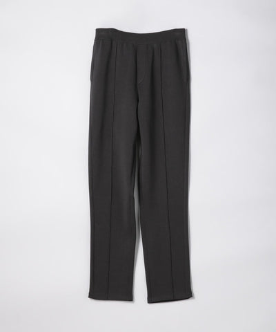 CABaN Cotton polyester bonding knit pants Charcoal Gray