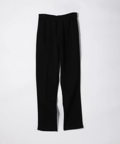 CABaN Cotton polyester bonding knit pants Black
