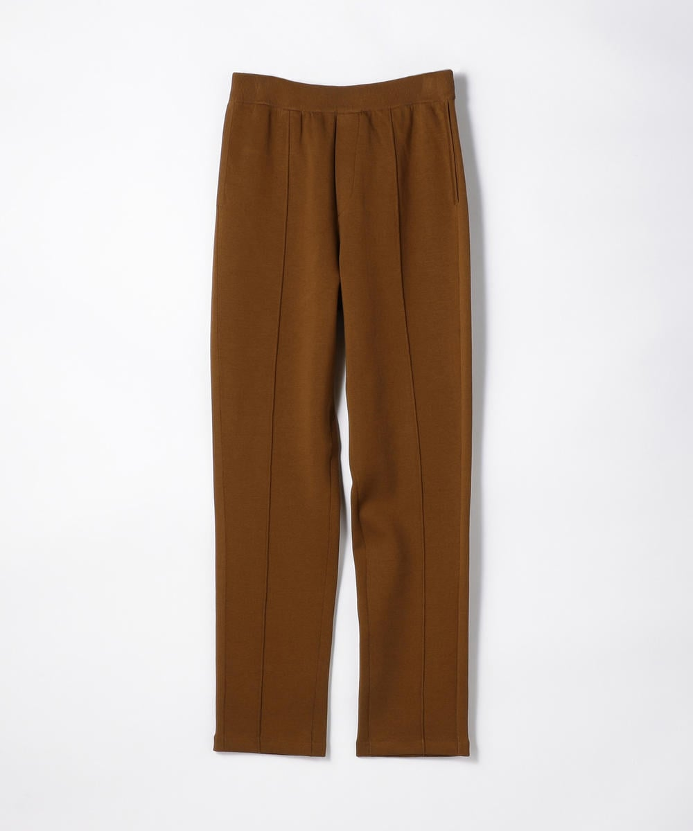 CABaN Cotton polyester bonding knit pants Brown