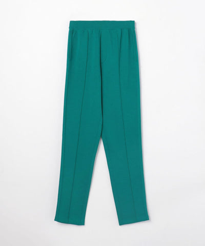 CABaN Cotton polyester bonding knit pants Green