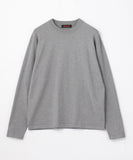 CABaN Cotton cashmere crew neck pullover Khaki Green