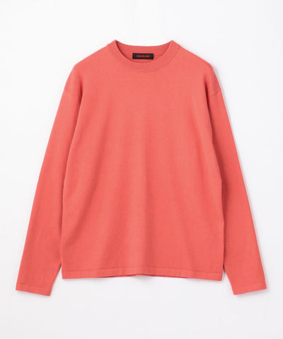 CABaN Cotton cashmere crew neck pullover Red
