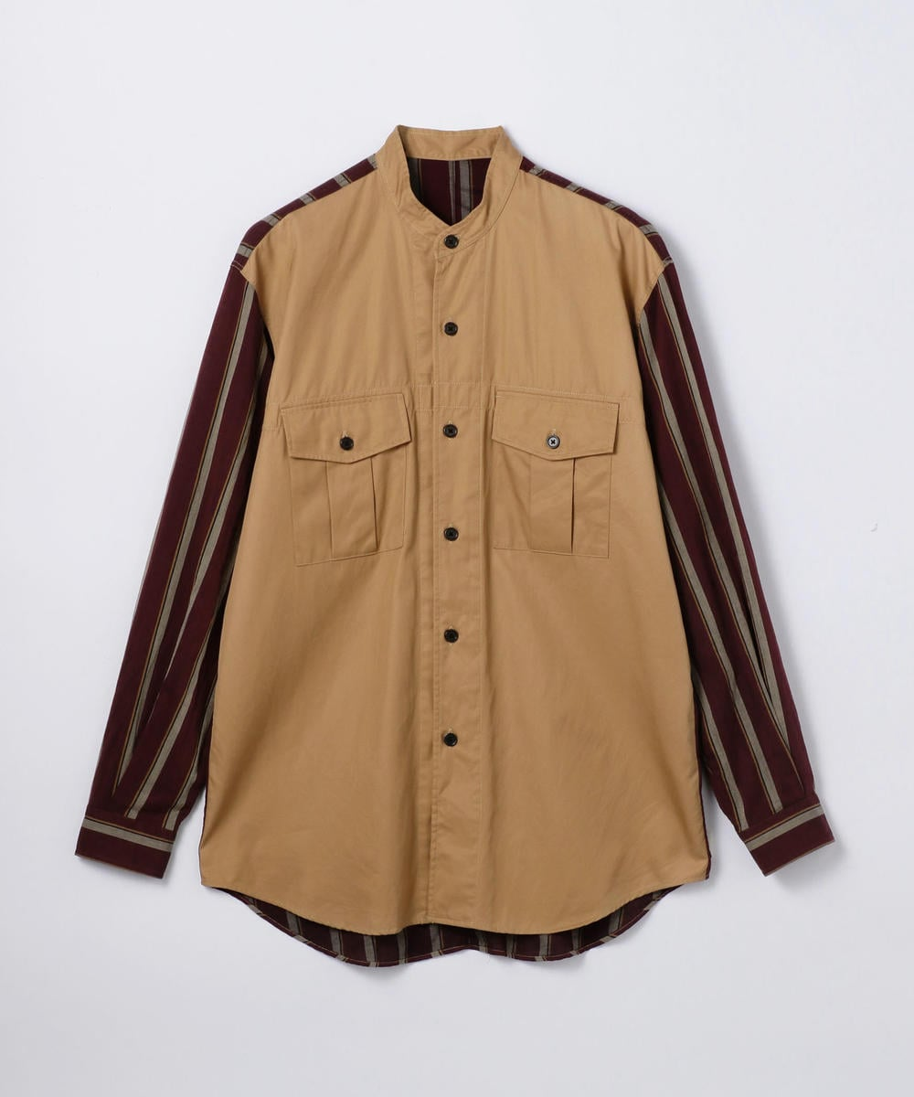 Chino band Collar Shirt