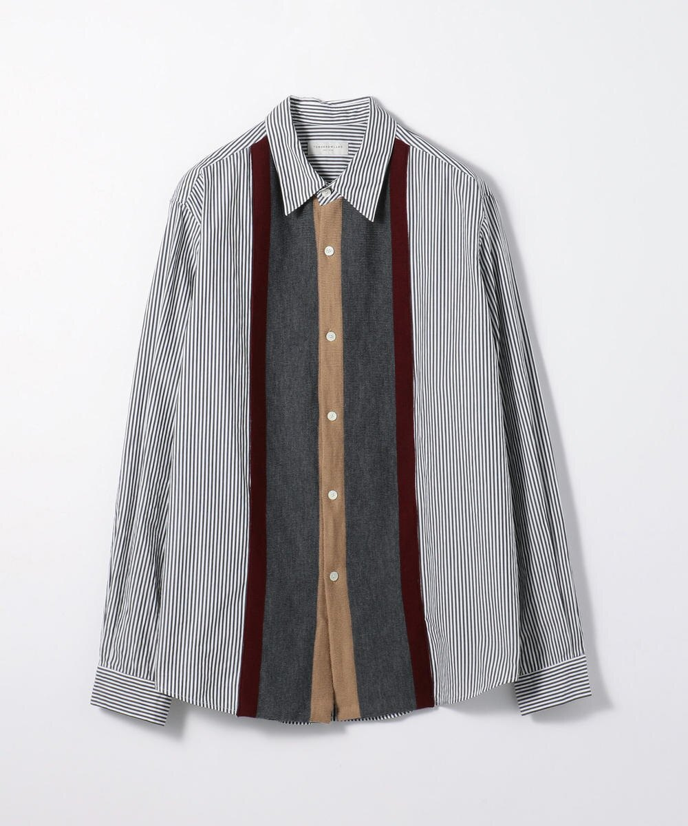 Stripe Broad Design Tricot Shirt