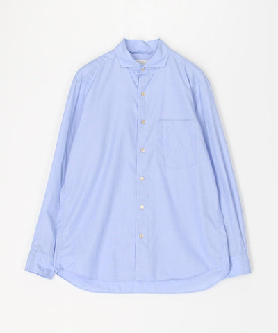 Cotton 100/2 Poplin Cutaway Collar Shirt