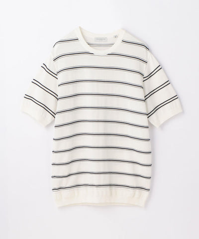 Tricot T Rope Stripe White and Black
