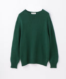 63029102012 TOMORROWLAND Crewneck Long Sleeve Knit Sweater - Green 57