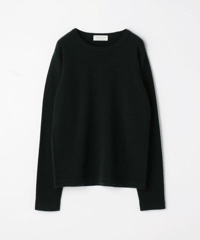 TOMORROWLAND Super fine lamb wool crew neck knit