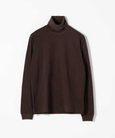TOMORROWLAND Brushed Cotton Cut-And-Sew Turtleneck available in multiple colors