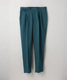 Mohair Blend Tropical Pants Blue