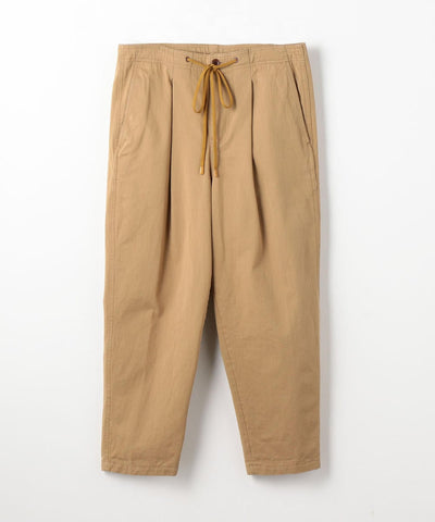 Selvage Chino Pleated East Pants