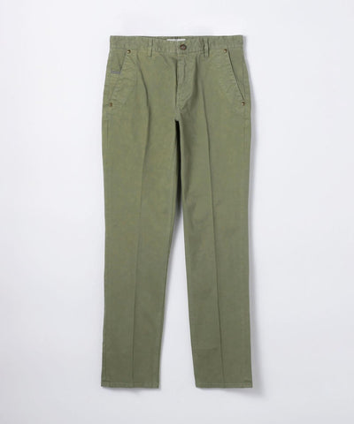 Comfy Cotton Garment Die Slim 5 Pocket Pants