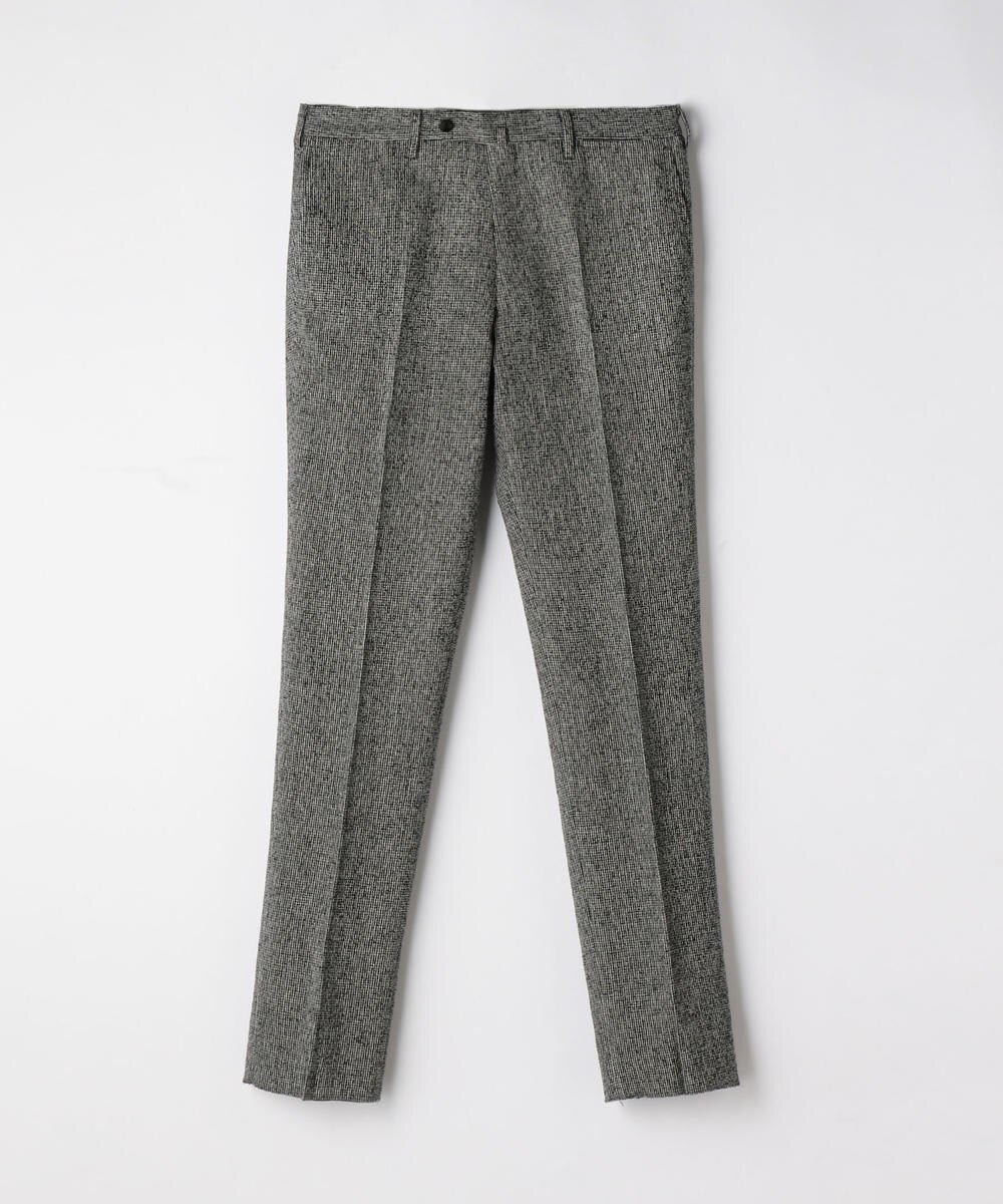 TOMORROWLAND Ring Tweed Slim Slacks